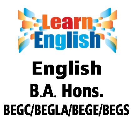 English B.A Hons