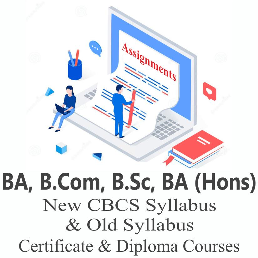 BA BCOM BSC BA (Hons) New CBCS and old Syllabus