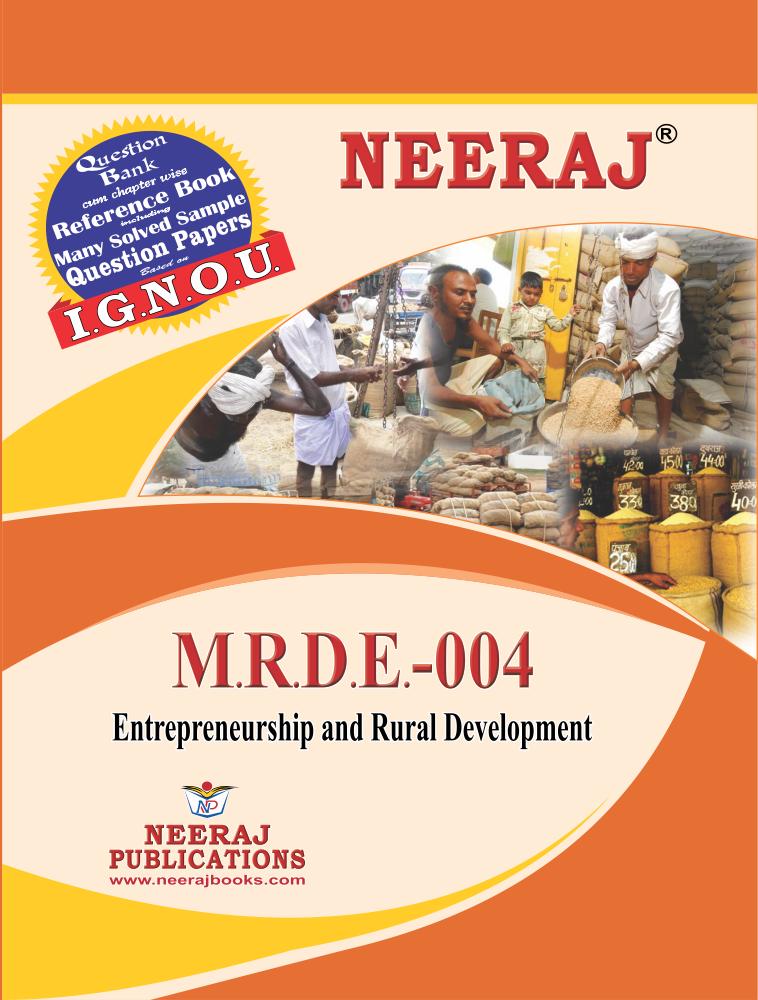 Entrepreneurship and Rural Development