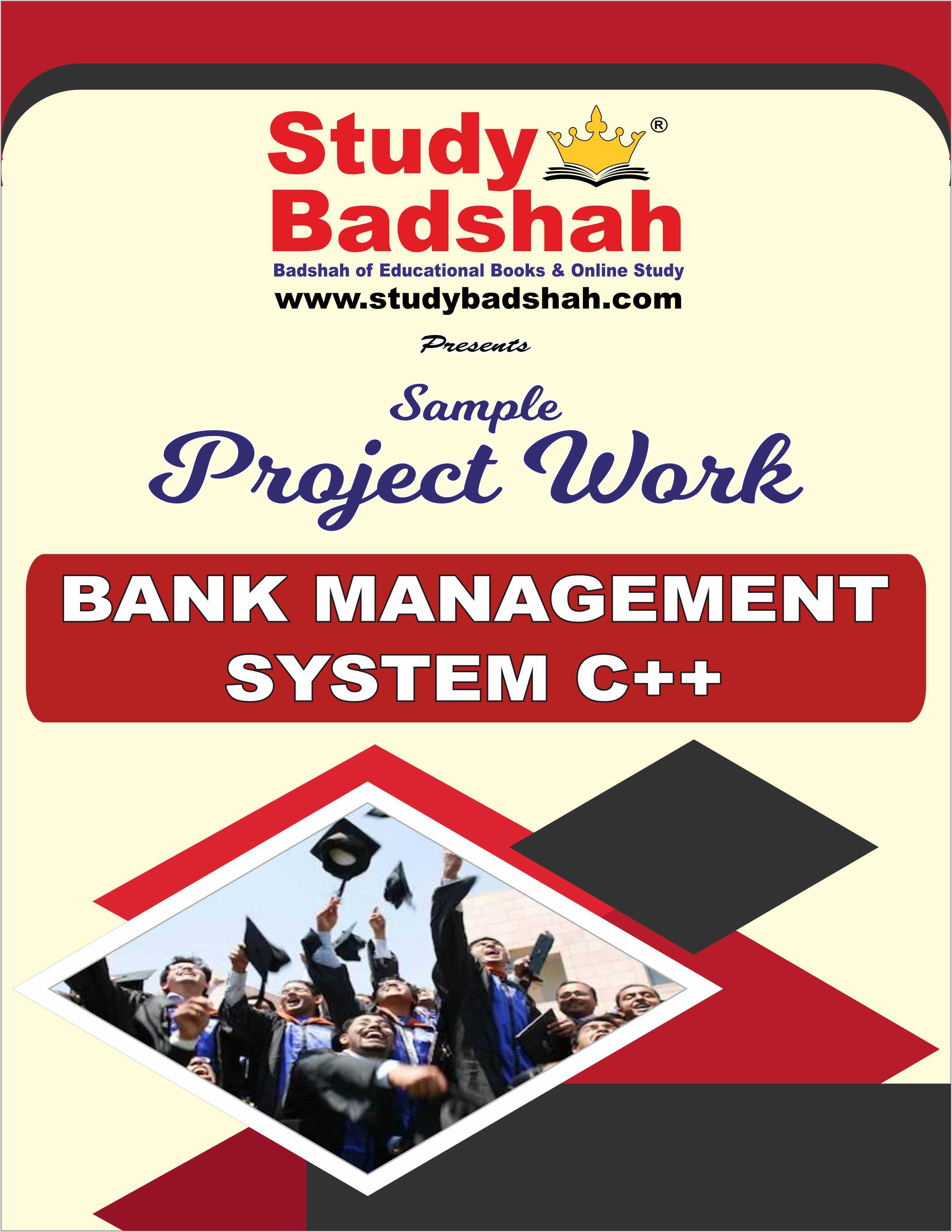 BANK MANAGEMENT SYSTEM C++