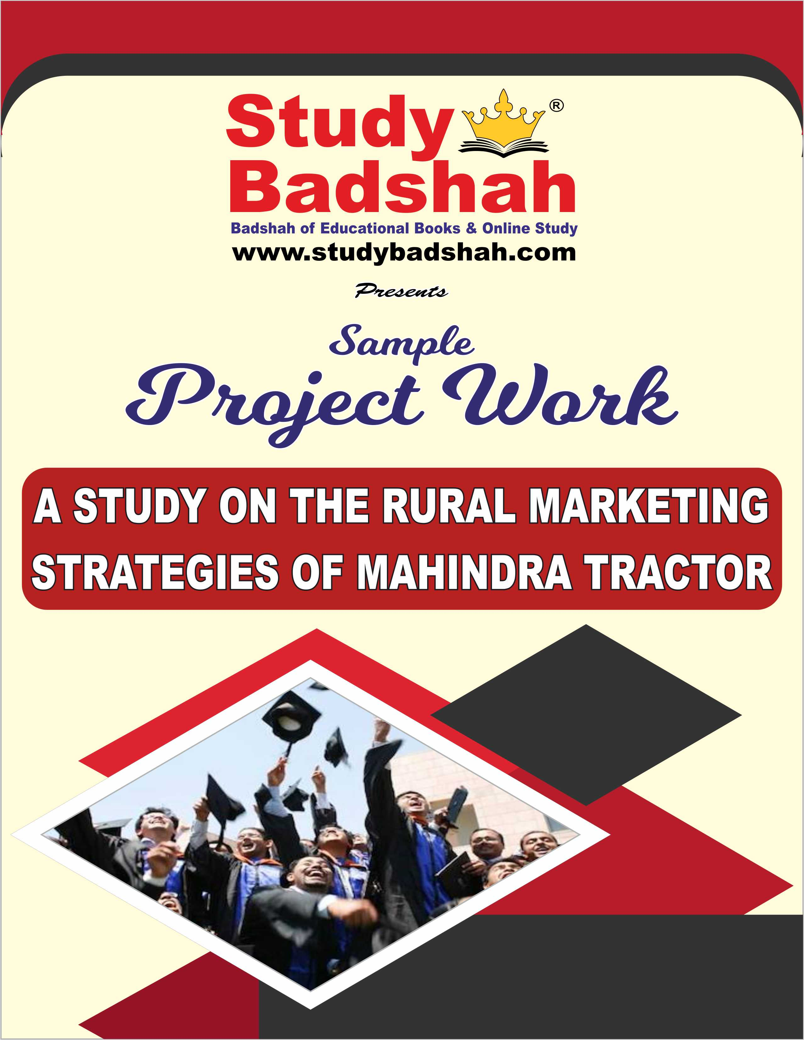 A STUDY ON THE RURAL MARKETING MAHINDRA TRACTOR
