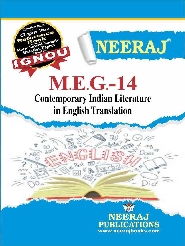 Contemporary Indian Literature in Eng. Translation