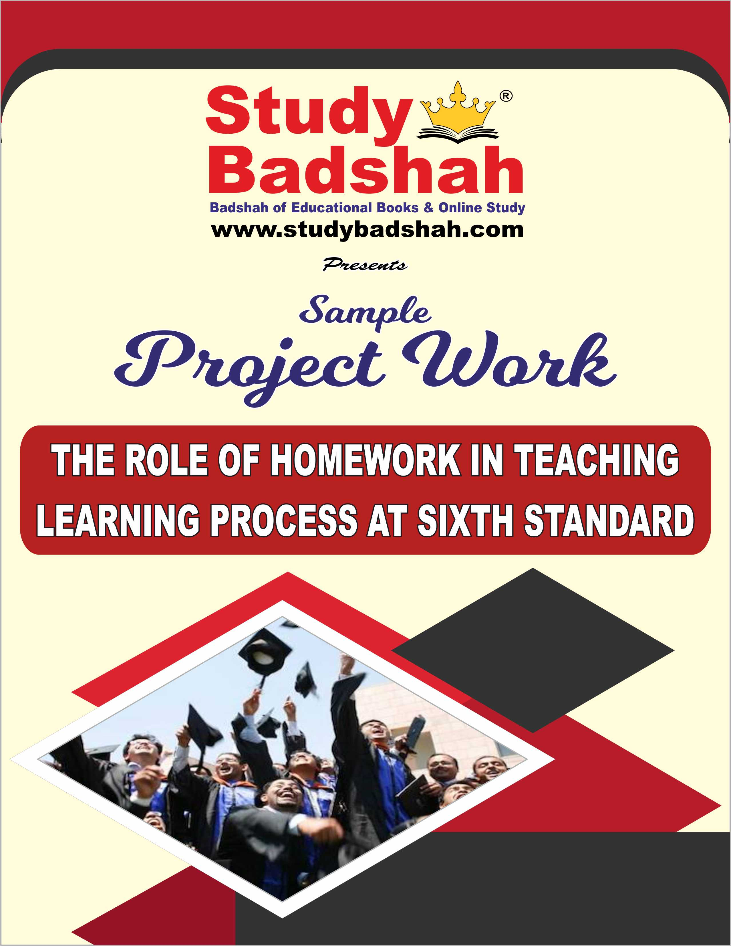THE ROLE OF HOMEWORK IN TEACHING–LEARNING PROCESS AT SIXTH STANDARD-98p